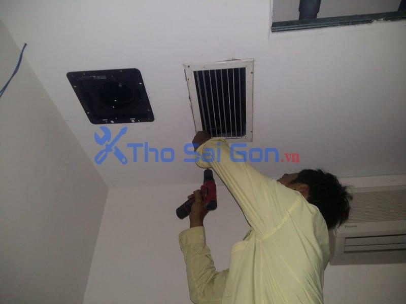 Thợ lắp quạt hut mùi tại Tp hồ chí minh. lắp quạt thông gió phòng ngủ, quạt thông gió phòng máy lạnh