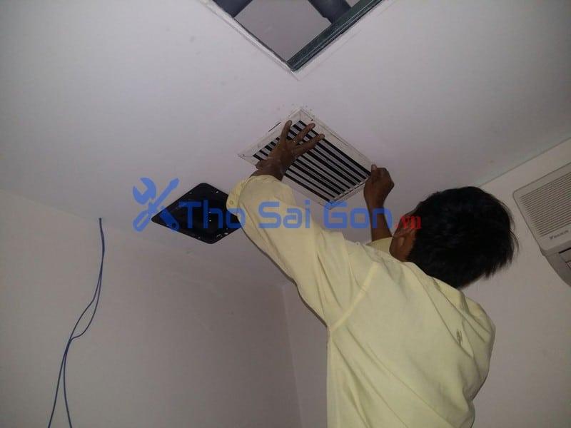 Dịch vụ lắp quạt hut mùi tại Tp hồ chí minh. lắp quạt thông gió phòng ngủ, quạt thông gió phòng máy lạnh