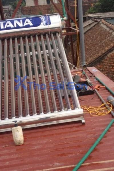 Sửa chữa lắp đặt vệ sinh bình năng lượng mặt trời tại TP Hồ Chí Minh