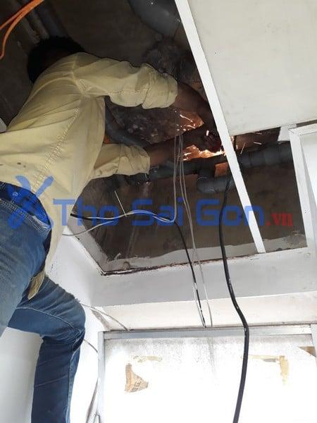 vệ sinh máy lạnh, sửa ống nước