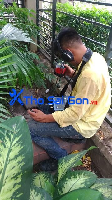 Dò nước âm rò rỉ tại Thảo Điền quận 2, dò tìm thất thoát nước giá rẻ