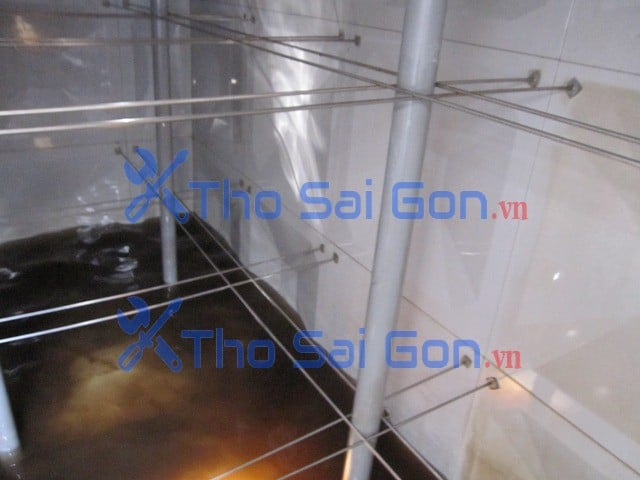 Vệ sinh bể nước ngầm bình thạnh, dịch vụ vệ sinh bồn nước chung cư bình thạnh