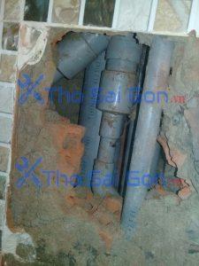 Sửa ống nước âm tường Quận Bình Thạnh