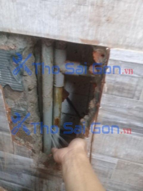 Sửa ống nước âm tường bị bể quận 11
