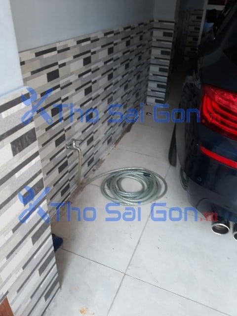 Dò tìm xử lý nước âm thất thoát tại Tân Bình