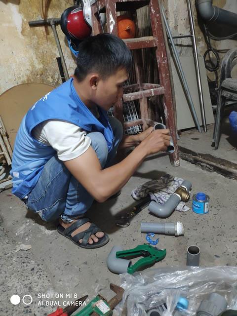 DỊch vụ sửa ống nước - thợ sửa ống nước tại Bình Thạnh- bảng giá nhân công sửa chữa nước